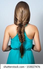 creative braid hairstyle