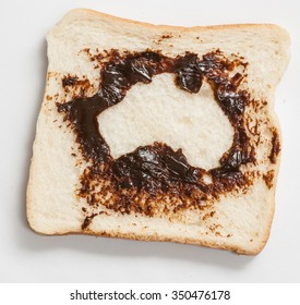 Creative breakfast toast