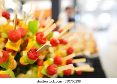 Creative catering food decoration