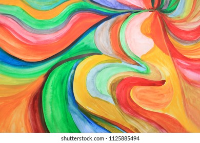 Creative colorful background. Color waves, river, ocean, colorful ocean, ocean colors, splash, positive energy, intuition, creativity, creative process, create, abstract thinking. Art therapy.