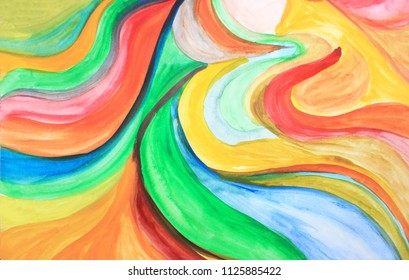 Creative colorful background. Motion abstract, flower. Creative pattern. Drawing, painting, illustration, cover design, backdrop, texture, abstract thinking, art therapy, creativity, lines.