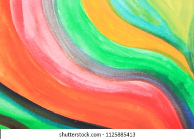 Creative colorful background. Red and green abstract art. Creative pattern. Drawing, painting, illustration, cover design, backdrop, texture, abstract thinking, art therapy, creativity, lines.