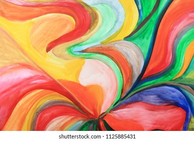 Creative colorful background. Waves, river, colorful ocean, colors, splash, positive energy, intuition, creativity, creative process, create, abstract thinking. Art abstract, fashion pattern.