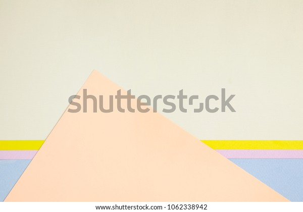 creative composition of papers for background .