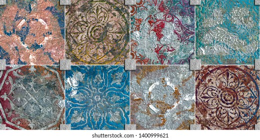 Creative decor of Wall tiles design with high resolution