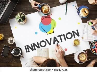 Creative Design Process Thinking Innovation Concept