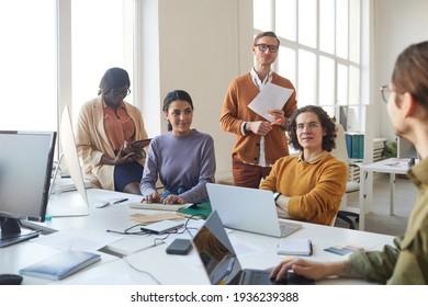 Creative IT Development Team in Office