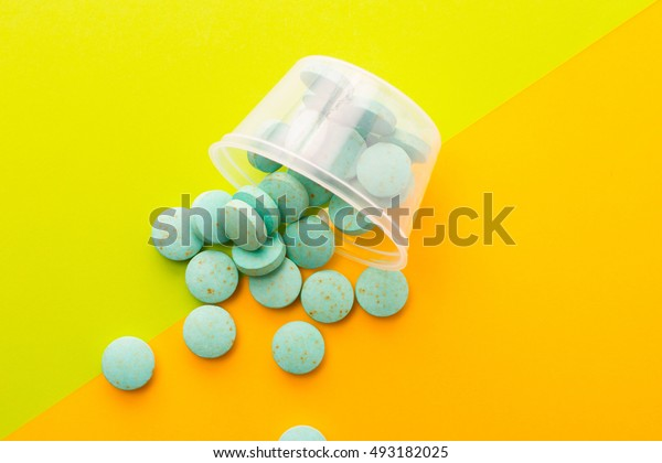 Creative fashion photo medications.