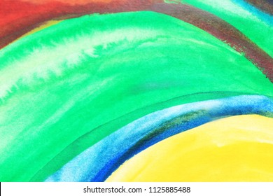 Creative green colorful background. Creative pattern. Drawing, painting, illustration, cover design, backdrop, texture, abstract thinking, art therapy, creativity, lines.