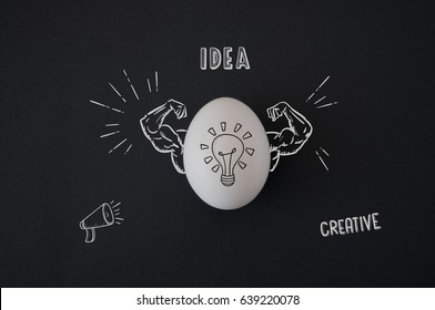 Creative idea egg