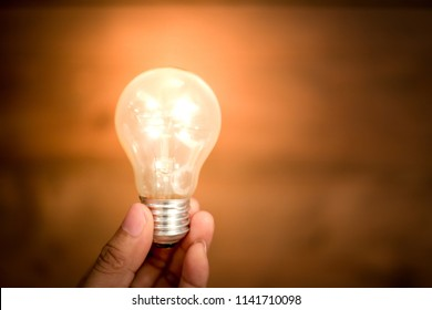 Creative ideas concept, light bulb for new ideas, object design for thinking.
