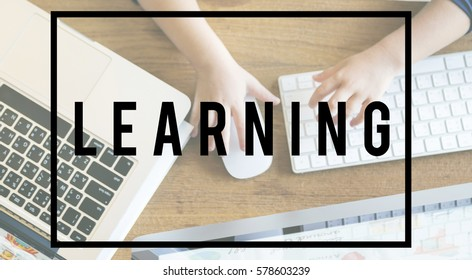 Creative Ideas Internet Learning Concept