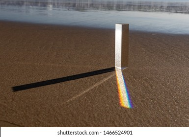 Creative lens glasse prism photography