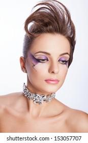 creative makeup Matilda