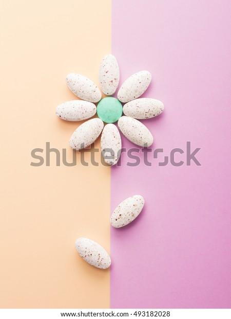 Creative minimalist photo medications.