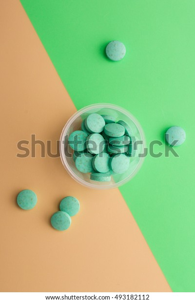 Creative minimalist photo medications.