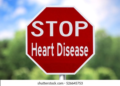 Creative Sign - Stop Heart Disease