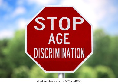 Creative Sign-Stop Age Discrimination