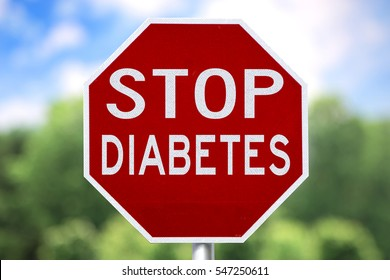 Creative Sign-Stop Diabetes