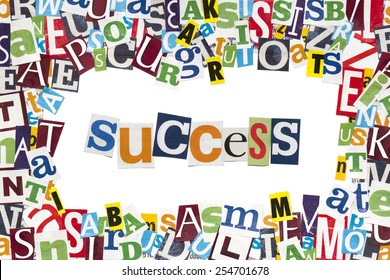 Creative text - Success