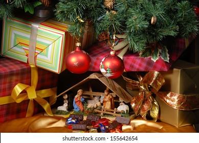 Christmas Crib Images Stock Photos Vectors Shutterstock