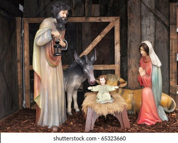 creche,Christmas time