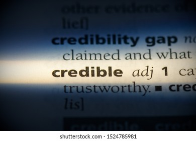 credible word in a dictionary. credible concept, definition.