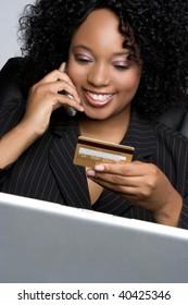 Credit Card Businesswoman