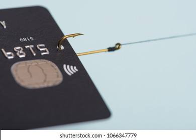 Credit card fraud data leak money stealing phishing concept