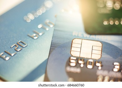 Credit card payment close up shot with selective focus, Financial concept