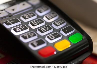 Credit card pos terminall