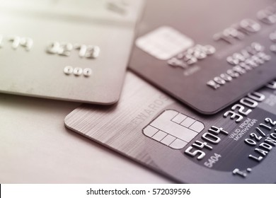 Credit card shopping closeup shot for background,selective focus