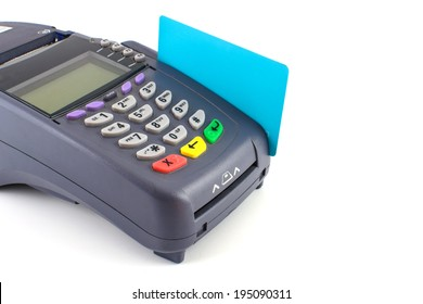credit card swipe through terminal for sale