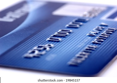 Credit card-financial background