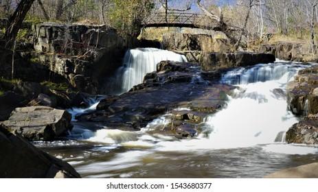 Creek bed of Duluth Minesota