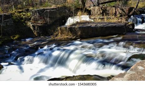 Creek bed of Duluth Minnesota