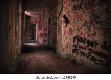 Creepy Bloody Room