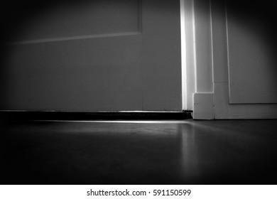 Creepy open door