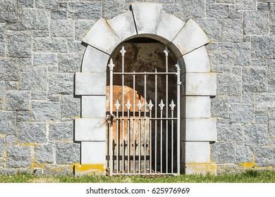 Creepy Tomb Entrance