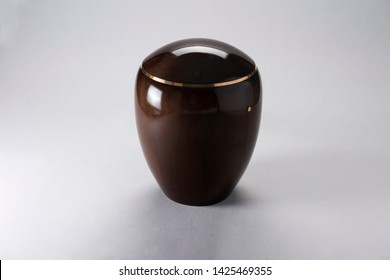 Cremation Urn for Ashes isolated