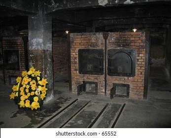 Crematory in Auschwitz