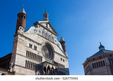 cremona lombard city's historic center Italy