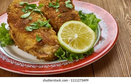 Creole Pan Fried Fish with Roasted Veggies