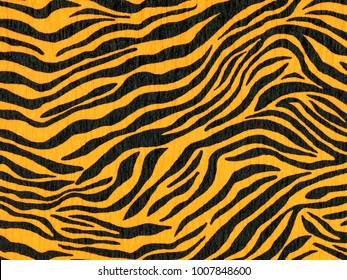 Crepe paper made of zebra animal pattern for wallpaper or backgrounds