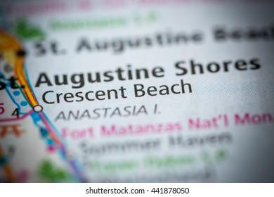 Crescent Beach. Florida. USA