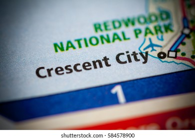 Crescent City. Oregon. USA