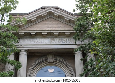 Crescent Hill Free Public Library in Louisville, KY - Shutterstock ID 1802735053