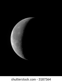 Crescent Moon High Resolution