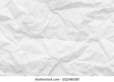 Cresed paper, white background texture