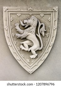 Crest of King Robert The Bruce of Scotland at Stirling Castle